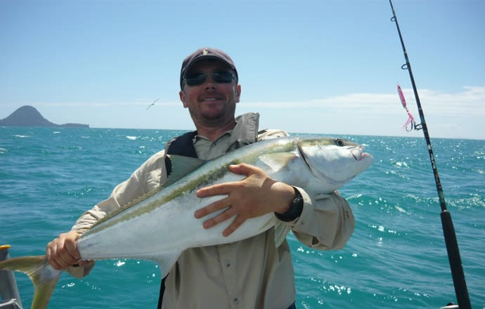 Kingfish caught off Whakatane